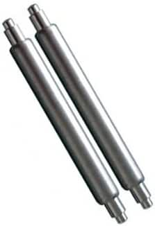 22mm Extra Thick Springbar. 2.5mm Diameter Stainless Steel. Fits Seiko Diver Watches. Made By JP Leatherworks