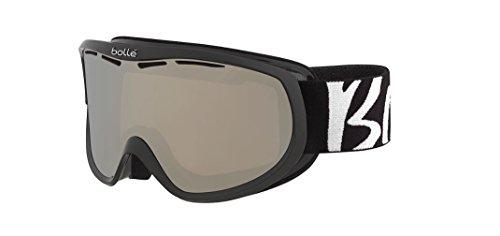Bolle Winter Sierra 21698 Lens Ski Goggles, White/Black/Chrome