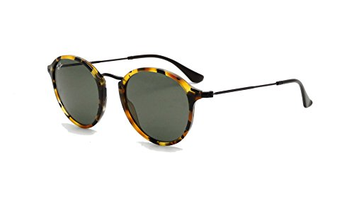 Ray-Ban Black Havana Icon Sunglasses RB 2447 1157 49mm +SD Glasses +Cleaning - Round Ray Ban Highstreet Sunglasses