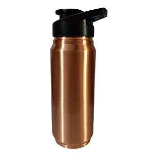 Rengvo Rudra Exports Copper Sipper Water Bottles 650 ML