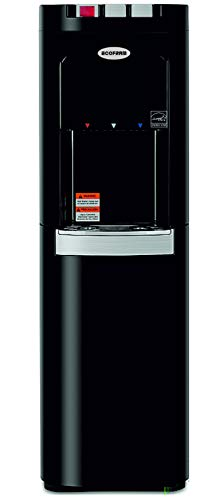 ECOFRAM Commercial Series, Heavy Duty Built, Water Cooler, Tall Top Loading Hot, Cook and Cold Water Dispenser