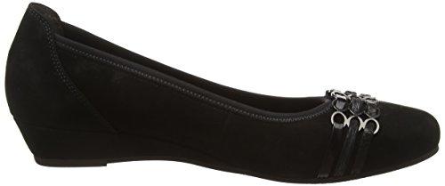 Gabor Shoes Comfort Sport, Zapatos de Tacón para Mujer Negro (Schwarz 57)