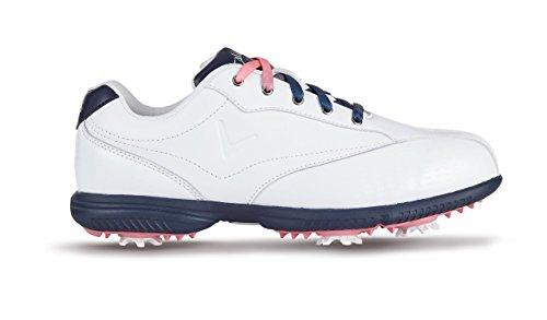 Callaway Halo Pro Golf-Schuhe Damen White / Peacot