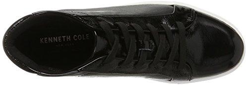 Kenneth Cole New York Kvinders Janette Høj Top Snøre Platform Patent Mode Sneaker Sort GX2J3Wj0