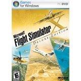 Microsoft Flight Simulator X Deluxe DVD - PC