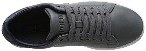 Polo Ralph Lauren Heren Whickham Fashion Sneaker Charcoal Grijs / Newport Marine