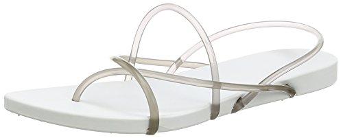 Ipanema Philippe Starck Thon G Fem - Sandalias de dedo Mujer Blanco - Weiß (white/smoke 8474)