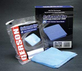 Gerson 12/BX Blue TACK Cloth (GER-20001B)