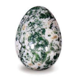 - Tree Agate Crystal Egg ~48mm