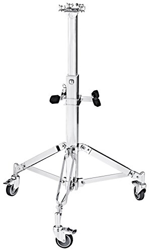 Meinl Percussion Professional Conga Double Stand with Wheels (TMPDS) (Meinl Stand)
