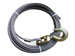 BA Products 4-38SC50S Winch Cable, 3/8