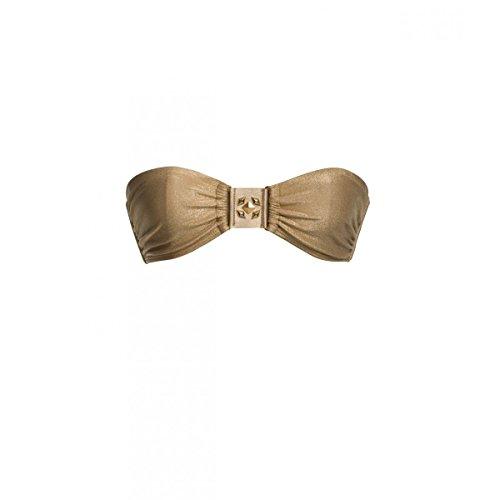 Cinta de arriba de bikini Ondademar Oro