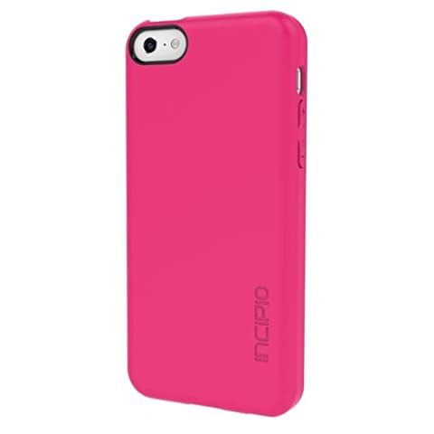 Incipio Feather Case for iPhone 5C - Retail Packaging - Pink (Pink Iphone 5c Phone Case)