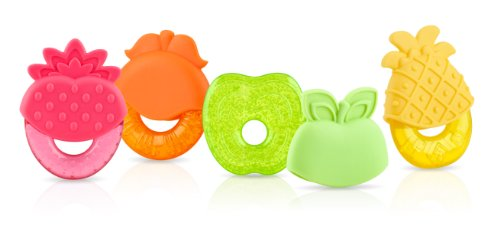 Nuby IcyBite Shaped Teether Colors
