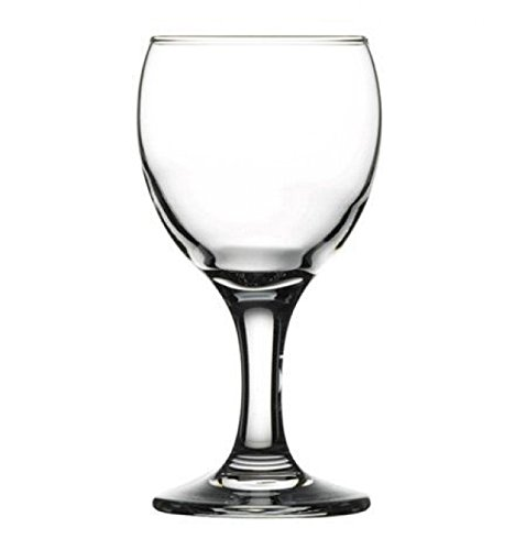 Pasabahce Bistro Mini Wine and Champagne Glasses 6 Pieces - 5.75 Oz Each]()