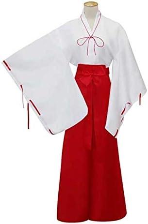 BCOGG Anime Inuyasha Kimono Conjunto completo Disfraz de Cosplay ...