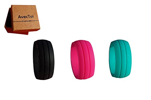 AvecToi Womens Silicone Wedding Ring product image