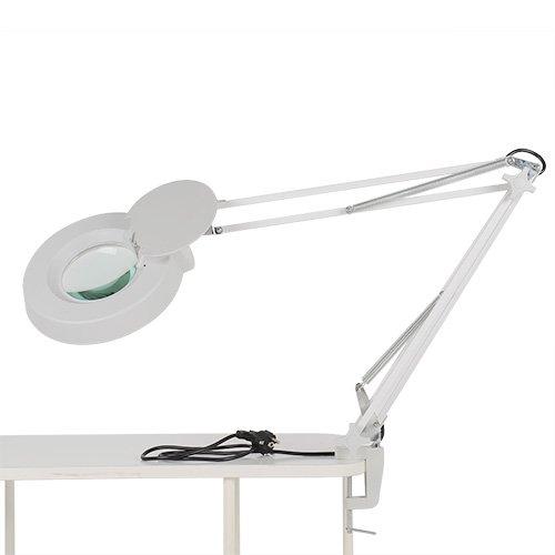 MVPower® 22W Kaltlicht Lupenleuchte Tisch-Lupenlampe Arbeitsleuchte Lupe Vergrösserungslampe Kosmetik 5 Dioptrien/ 8 Dioptrien (5 Dioptrien)