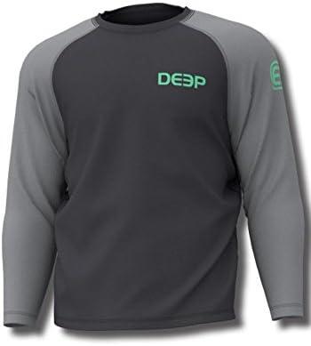 Deep Ocean Mens Varsity Performance Shirt