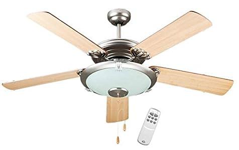 Dcg eh idja kfuu ventilatore a soffitto in legno a soffitto con