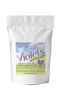 Violet's Natural Laundry Powder Grapefruit and Lime kilo