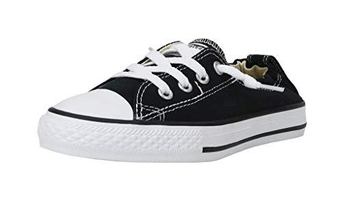 Name On Converse (Converse Girls' Chuck Taylor All Star Shoreline Sneaker, Black, 5 M US Big)