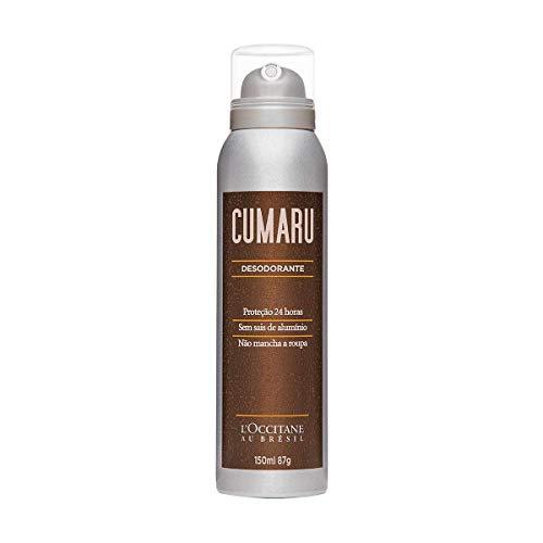 Desodorante Cumaru L'Occitane au Brésil 150ml