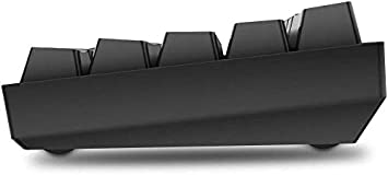 Gateron Optical Red Switch RGB Backlit Wired PBT Keycap Waterproof Type-C Mini Compact 61 Keys Computer Keyboard with Full Keys Programmable DIERYA DK61E 60/% Mechanical Gaming Keyboard