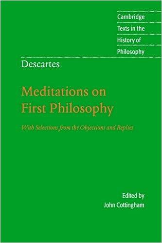 Rene Descartes Meditations On First Philosophy Pdf