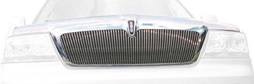 Lincoln Aviator Billet - TRex Grilles 30715 Vertical Aluminum Polished Finish Billet Grille Insert for Lincoln Aviator