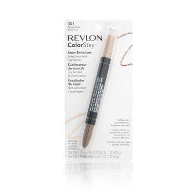 Revlon ColorStay Brow Enhancer, Blonde/Gold 001 1 ea