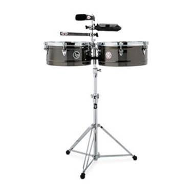 Latin Percussion LP1415KP LP Karl Perazzo Signature Prestige Timbale Set 14''/15'' by LP