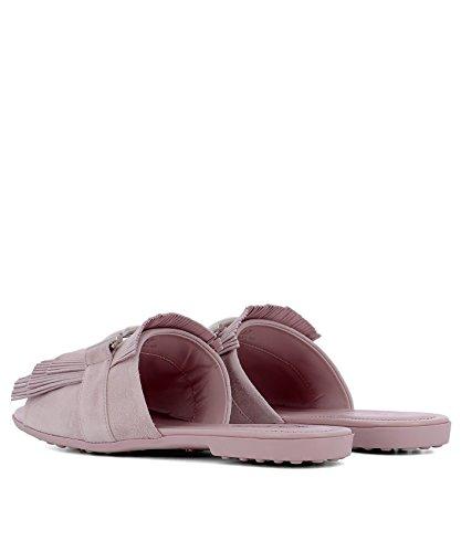 Suede Tod's Sandals Women's XXW00V0Y460HR0L020 Pink TnTHw8O7