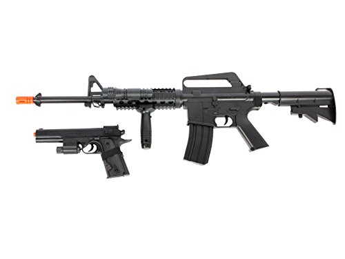 Duty Starter (Soft Air Colt M4A1 RIS Spring Rifle and Pistol On-Duty Kit)