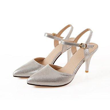 Puntiaguda High tacón dorado Mujer de Pumps Piel Mujer Heels cirior Zapatos Super tacón Boda Zapatos Stöckel de FO8ppx