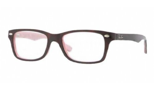 Ray Ban Junior RY1531 Eyeglasses-3580 Top Havana On Opal Pink-46mm