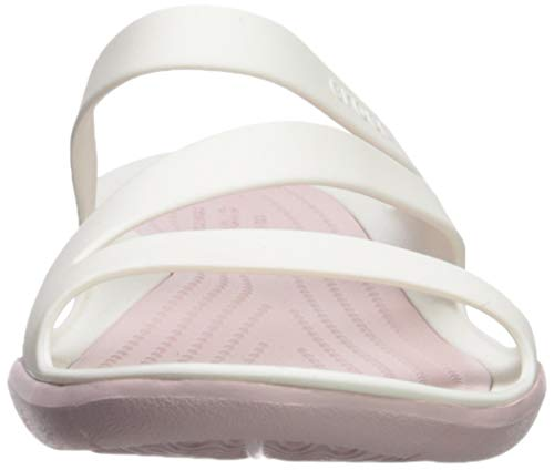 Dust white Slip Croslite White Crocs Swiftwater On 4 4 Women's rose Sandal Size RzqZ1wB8Z