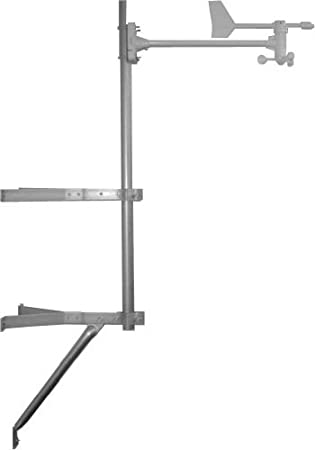Ambient Weather EZ-30-12 Stable Mounting Kit with Mast
