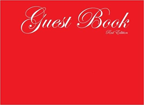 Guest Book Red  Classic Red Guest Book Option - ON SALE NOW - JUST  6.99 (Guest  Books) (Volume 63)  Matthew Harper  9781518769566  Amazon.com  Books 17046e6bdff9