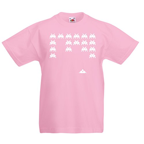 Funny t Shirts For Kids Vintage pc Maniacs Funny Gamer Gifts Funny Gamer Shirts (9-11 Years Pink White)