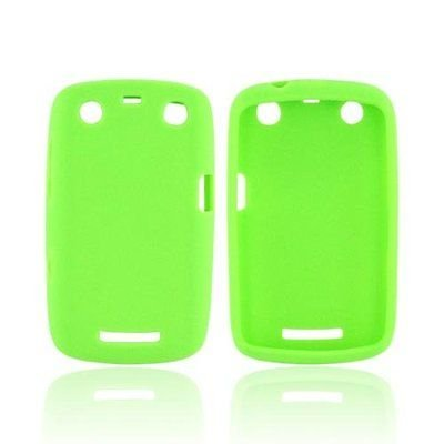 Silicone Skin Case for Blackberry Curve Apollo 9360 - Green ()