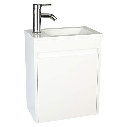 eclife Bathroom Vanity W/Sink Combo 16