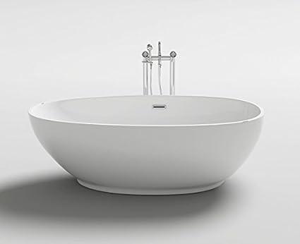 Vasche Da Bagno Design Moderno : Vasca da bagno freestanding centro stanza stile ovale