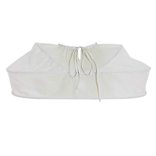 CosplayDiy Women's Pannier Crinoline Petticoat, Bustle for Victorian Rococo Dress -