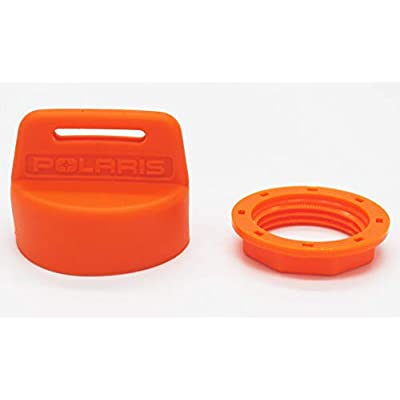 Custom Install Parts Color Coded Rubber Key Switch Cover Organizational Tool Fitted for Polaris (Orange): Automotive
