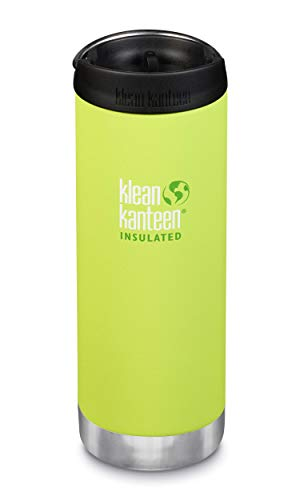 (Klean Kanteen, TKWide with Café Cap Juicy Pear 16 Ounce )