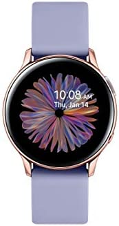 Samsung Galaxy Watch Active 2 (40mm, GPS, Bluetooth) Smart Watch with Advanced Health Monitoring, Fitness Tracking, and Long Lasting Battery - Rose Gold (US Version) 1