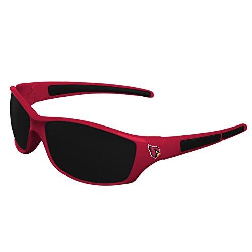 NFL Arizona Cardinals Sports Fan Sunglasses, Team Color, One - Sunglasses Cardinals