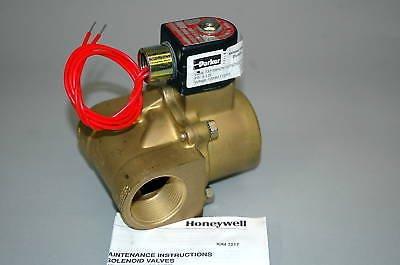 Honeywell Skinner Valve - Honeywell Parker Skinner Steam Valve 73218BN75TS0N0H222P3 New