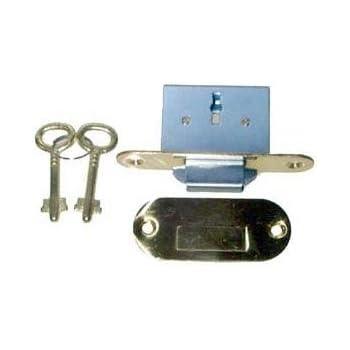 Lrt 6 Brass Full Mortise Round Roll Top Desk Lock